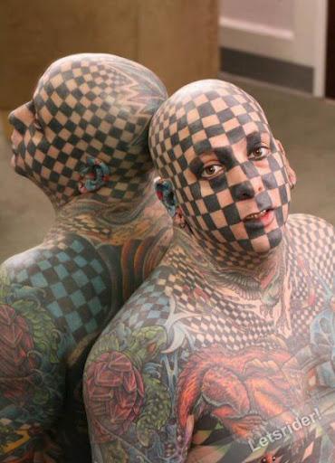 tatoos loucas,tatoos bizarras