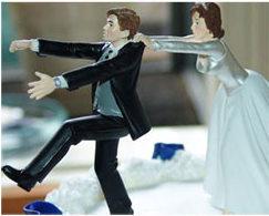 velas de casamento divertidas