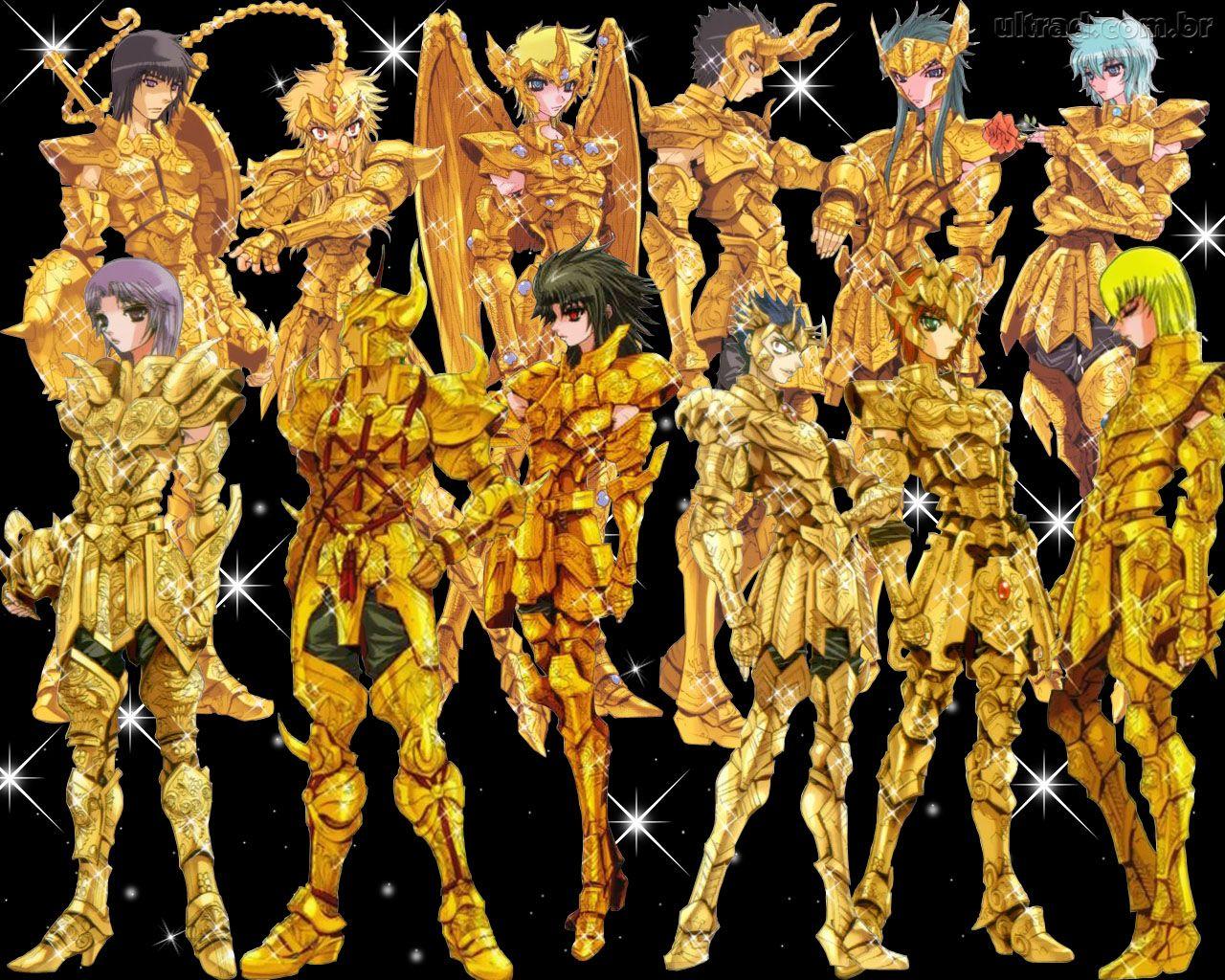 cavaleiros dos zodíacos wallpapers  Mente Aberta