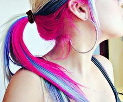 cabeloas coloridos
